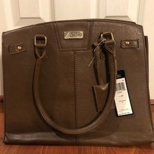 New with tags BCBG Brown Chic Bag.